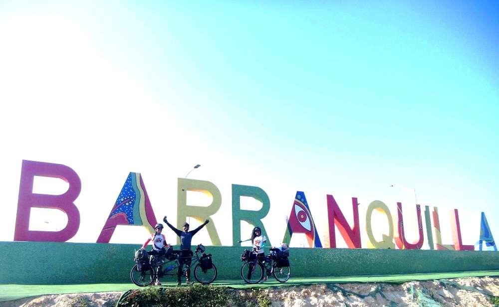 venezolanos en bicicleta argentina venezuela cicloexpedicionistas colombia