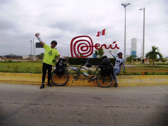 venezolanos en bicicleta cicloexpedicionistas